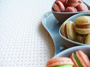 Macarons of several flavors