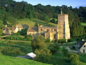 Buildings in Cotswolds, England