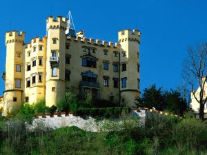 Castle of yellow stone