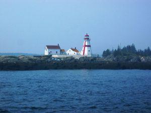 Lighthouse on Campobello Island, New Brunswick, Canada