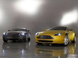 Two Aston Martin