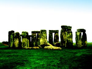 The monument Stonehenge (United Kingdom)