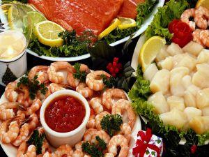 Fish and seafood to eat at Christmas
