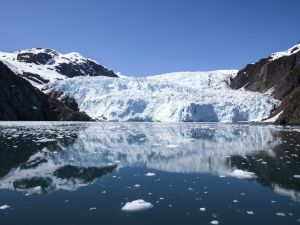 Fjords National Park in Kenai (Alaska)