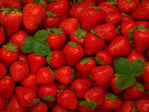 Delicious strawberries