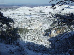 Snowy Agres (Valencia, Spain)