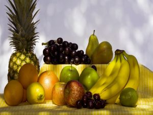 Healthy and delicious fruits