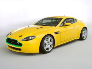 Aston Martin yellow