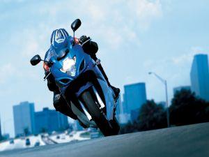 Suzuki GSX 650 F, around the city