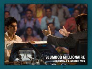 "Frame of ""Slumdog Millionaire"""