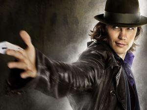 """Taylor Kitsch as Gambit in """"X-Men Origins: Wolverine"""""""