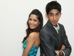 Dev Patel with Freida Pinto (Slumdog Millionaire)