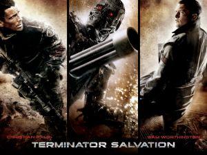 Terminator Salvation (Christian Bale and Sam Worthington)