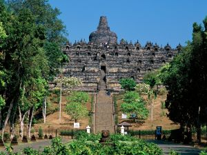 Borobudur, Buddhist temple (Java, Indonesia)