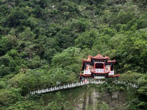 Kuanyin Temple in Taroko National Park, Taiwan