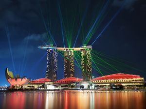 Night in Singapore