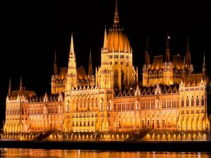 The night in the Parliament (Hungary)