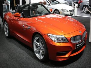 BMW Z4 sDrive 35is, orange