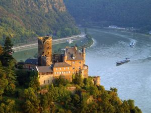 Katz Castle, St. Goarshausen (Germany)