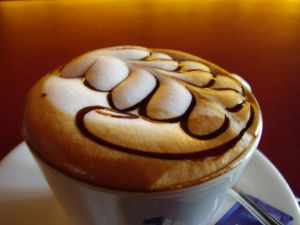 Decoration in coffee