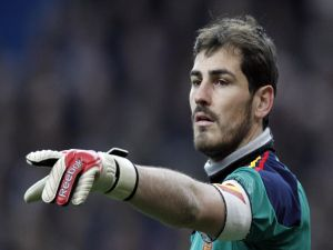"Casillas with ""La Roja"""