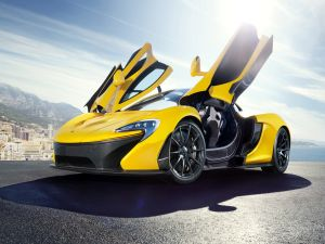 McLaren P1, yellow