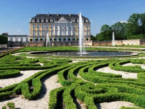 """Gardens of """"Augustusburg and Falkenlust Palaces"""" in Brühl (Germany)"""