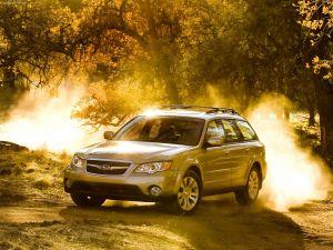 Subaru Outback, sunlit