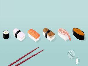 Types of sushi, Japanese food