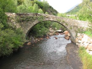 Bridge over the river Eresa