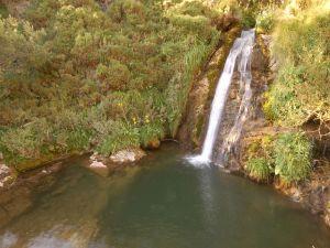 Waterfall in Babia (Province of León, Spain)