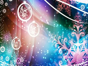 Abstract background for Christmas