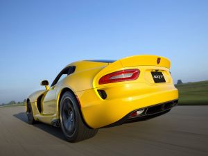 Dodge Viper SRT, yellow