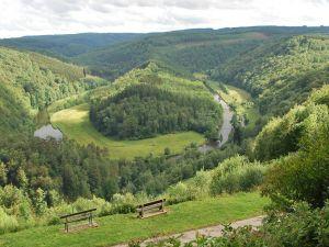 Semois River, winding through the landscape