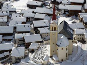 Church of St. Ulrich in Obertilliach, East Tyrol