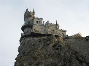 Castle on the edge of the rock