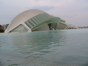 L'Hemisferic, City of Arts and Sciences of Valencia (Spain)