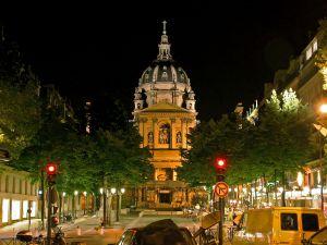 Church in a city