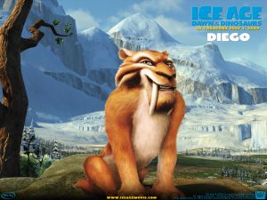 Diego in Ice Age Dawn of the Dinosaurs
