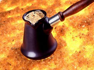 An original way to make coffee