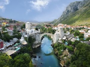 City of Mostar, Bosnia and Herzegovina