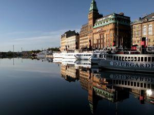 Boats in Stockholm, Sweden