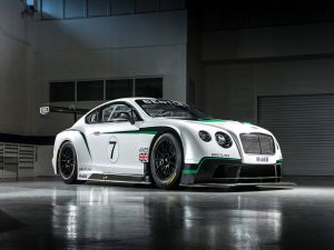 Bentley Continental GT3, racing car
