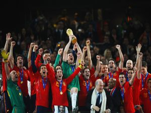 Spain, winners of the World Cup 2010