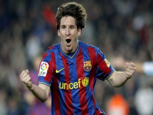 Goal of Messi for Barca