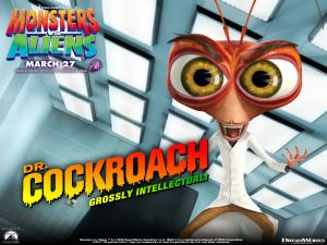 Dr. Cockroach (Monsters vs. Aliens)