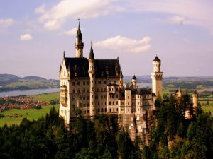 Neuschwanstein Castle, in Fussen, Germany