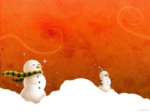 Dolls snow