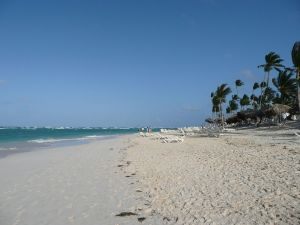 Beach in Punta Cana, Dominican Republic