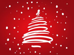 Card for congratulate the Christmas